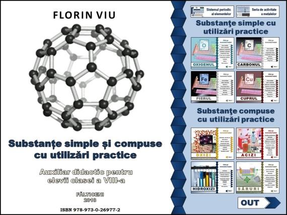 Copertă auxiliar chimie VIII